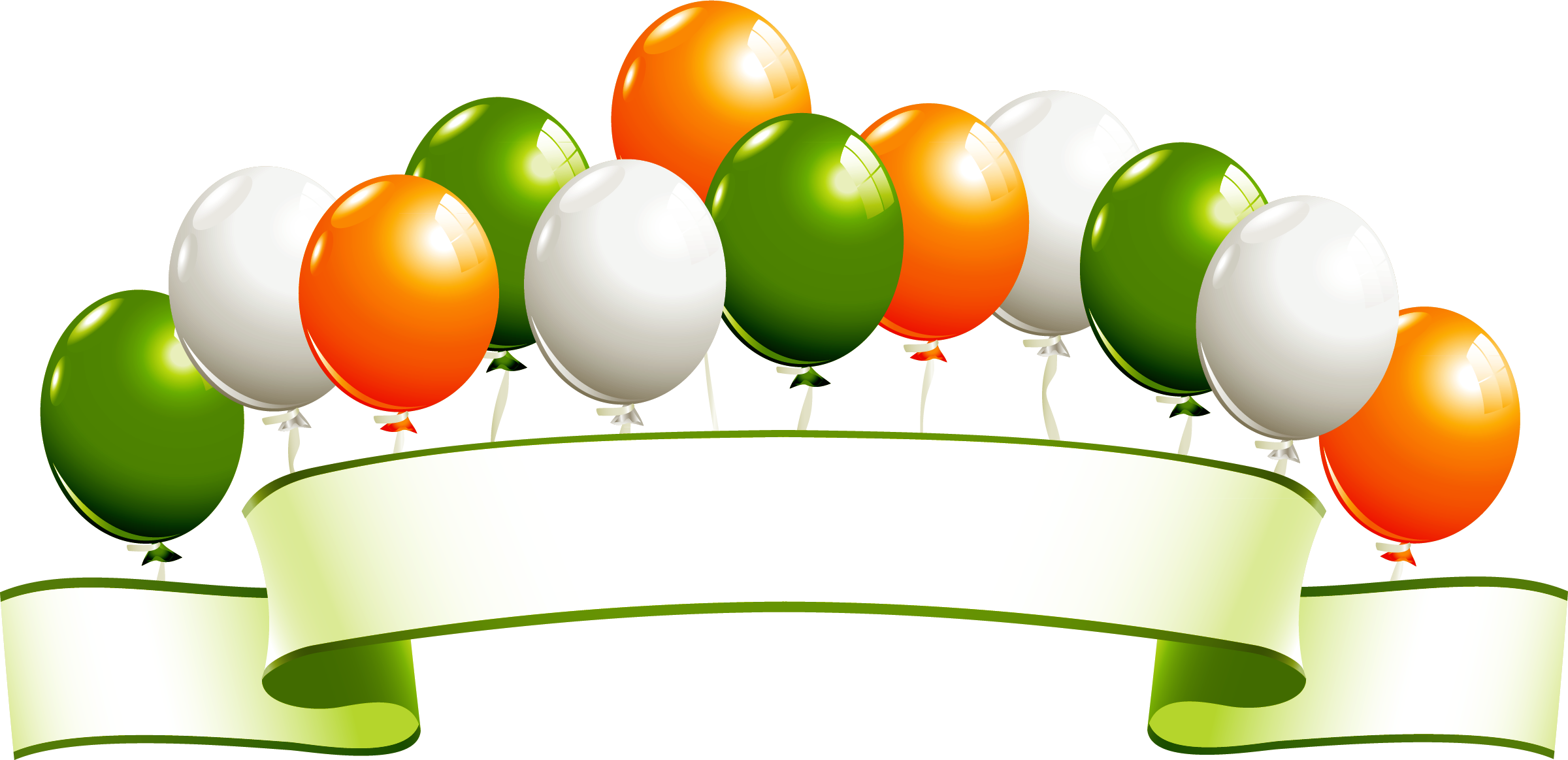 International women s saint. Clipart balloon st patrick's day