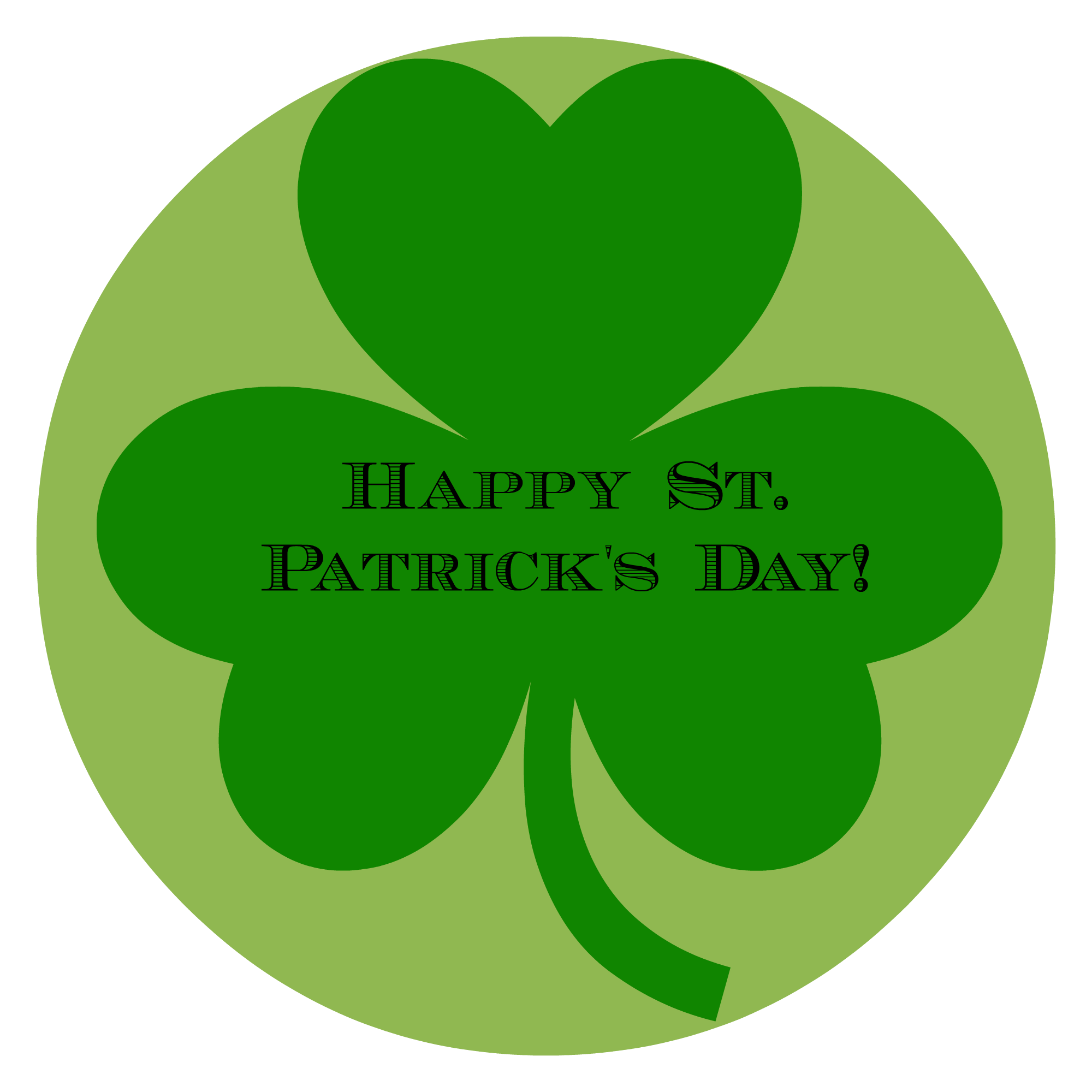 A family friendly patrick. Clipart balloon st patrick's day