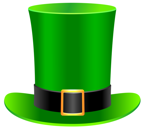 Clipart balloon st patrick's day. Patrick leprechaun hat png