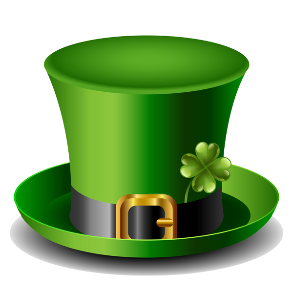 Luck of the irish. Clipart balloon st patrick's day