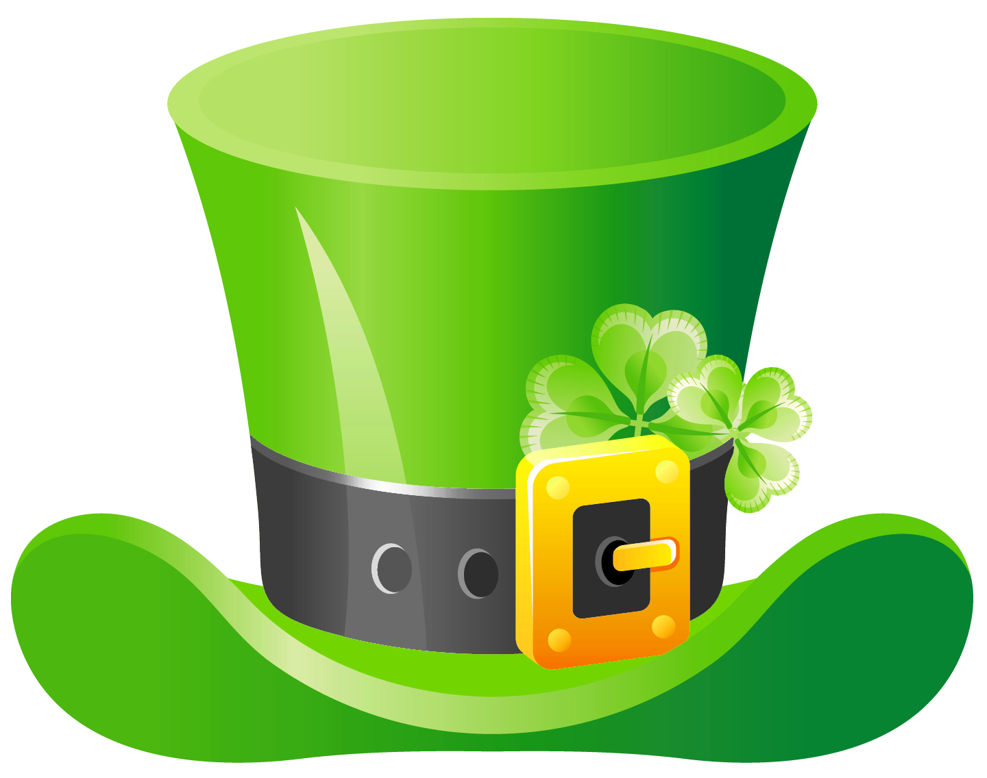Patrick png picture artistic. Hat clipart st patrick's day