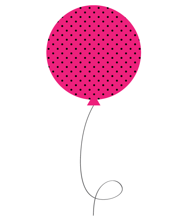 Free birthday balloons fun. Psychology clipart pink