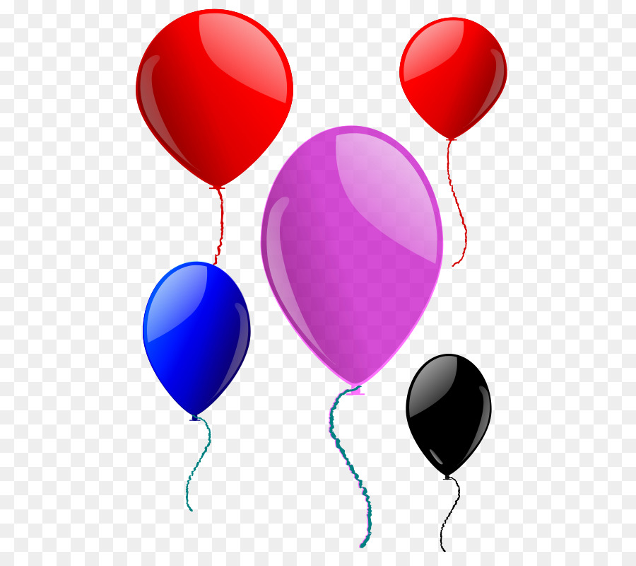 Heart red transparent clip. Clipart balloon summer