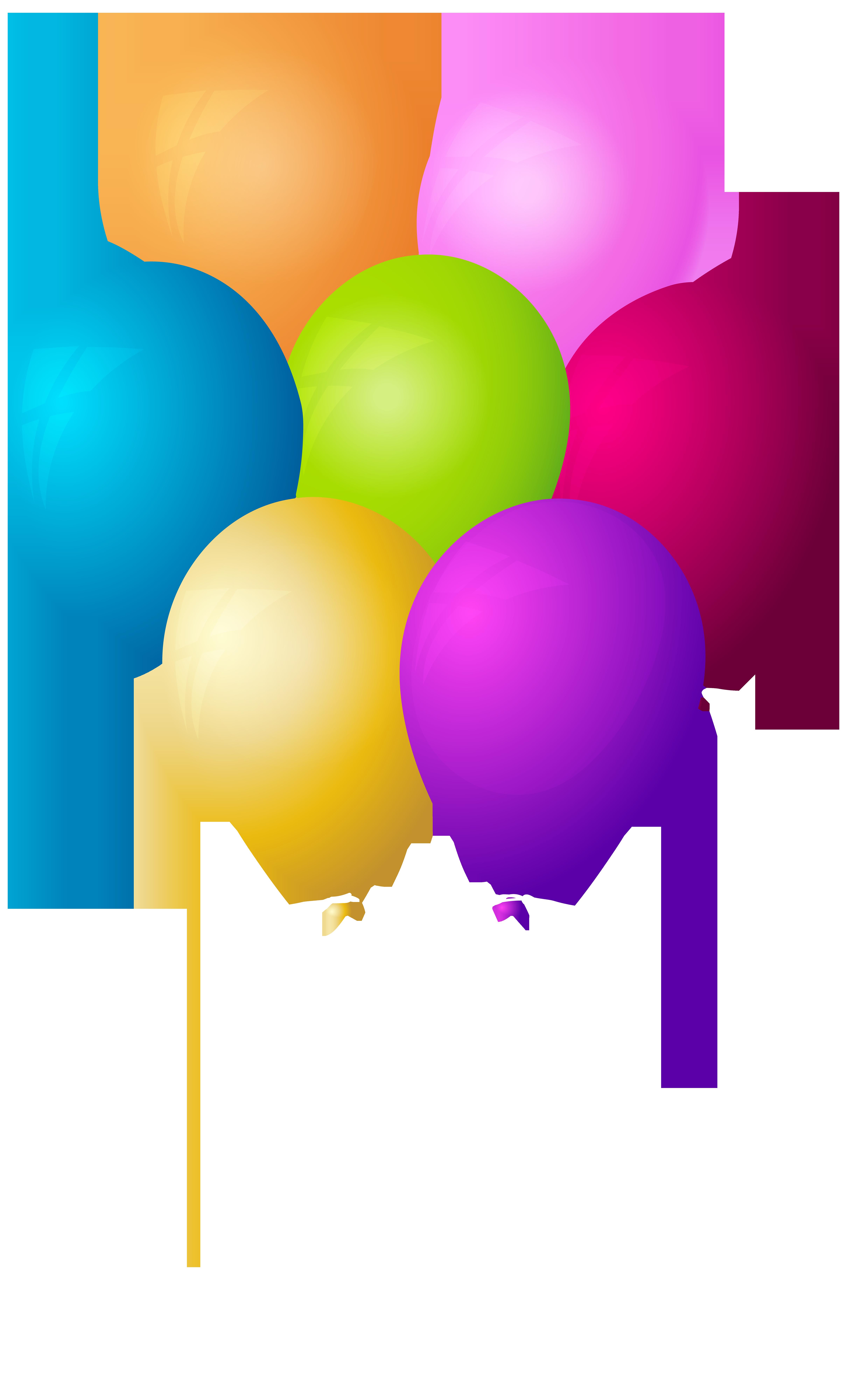 Clipart balloon summer. Balloons bunch transparent png
