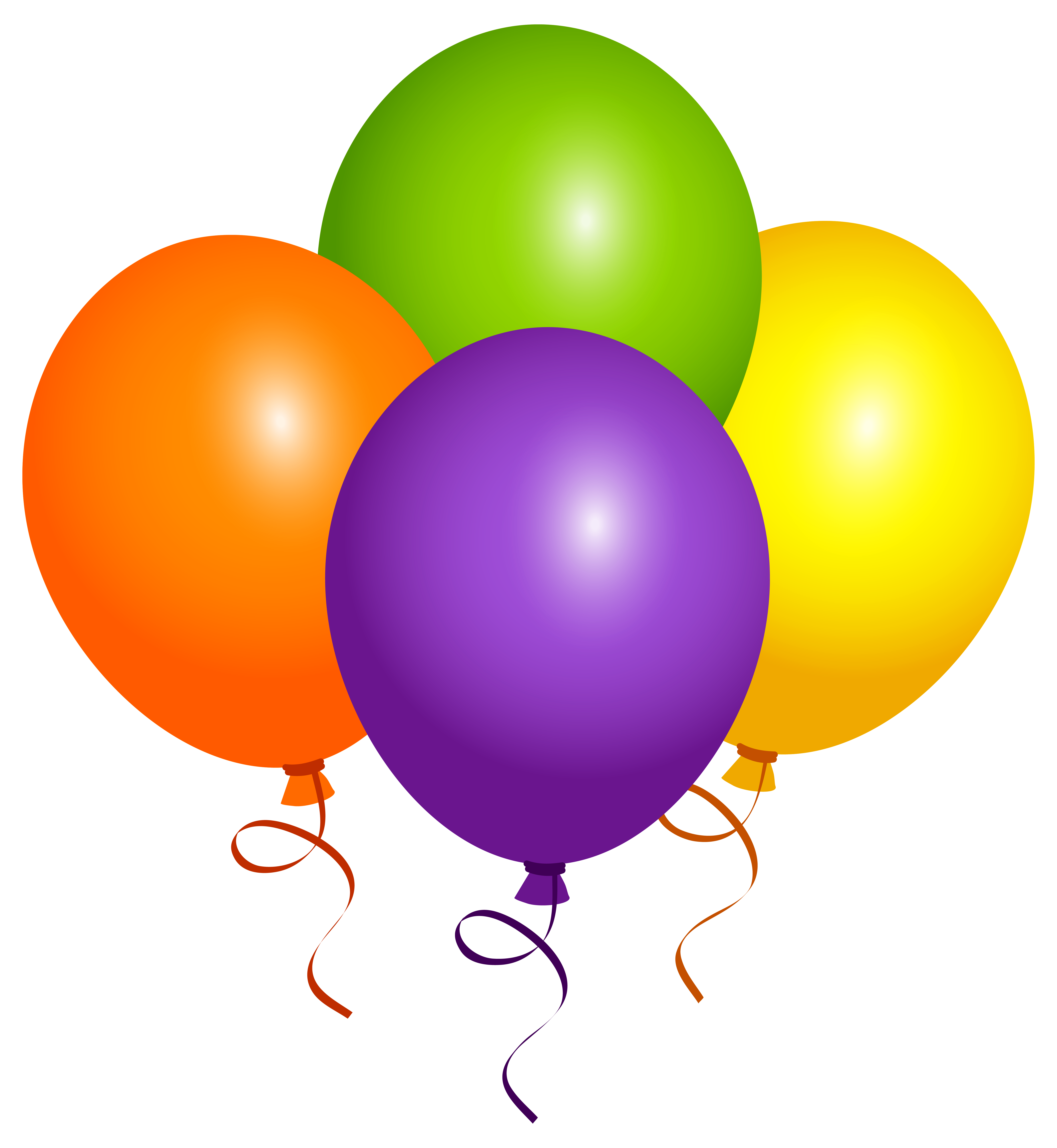 Large balloons png image. Clipart balloon summer
