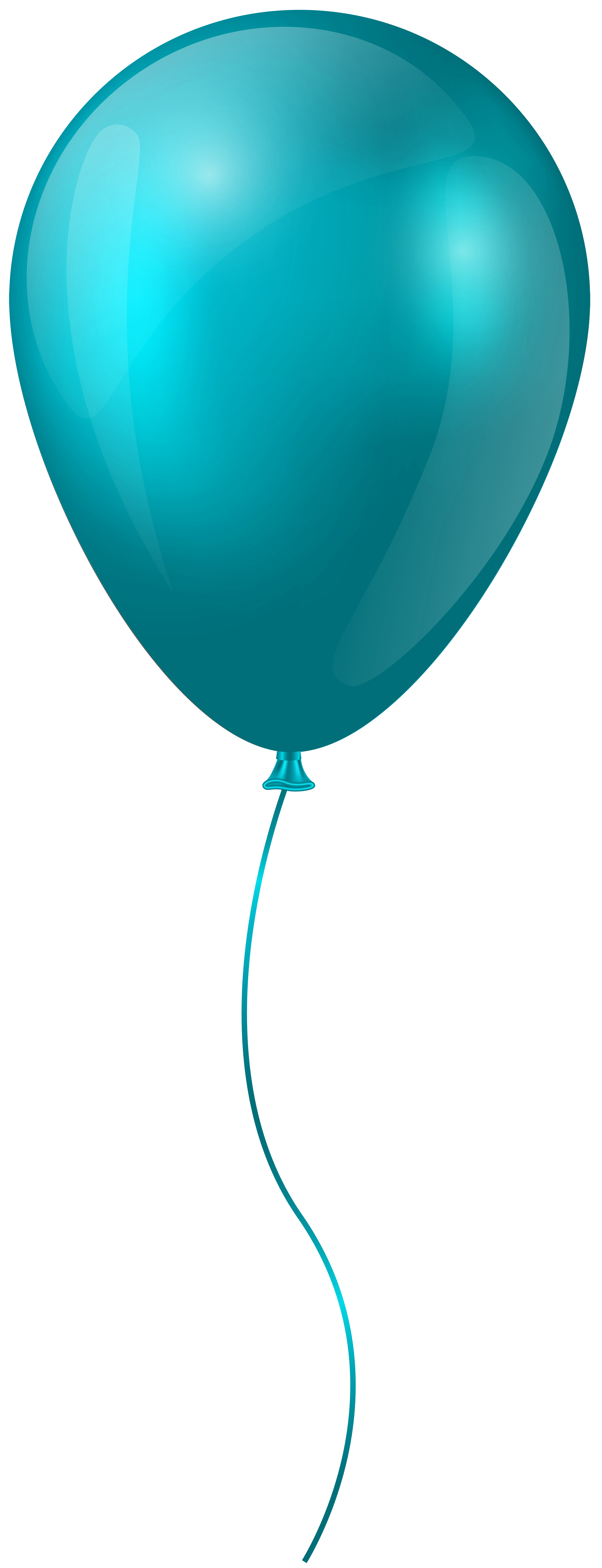 Blue transparent clip art. Clipart balloon teal