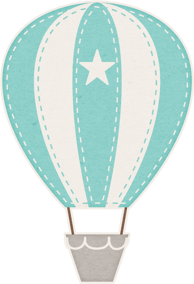Hotairballoon png pinterest babies. Clipart balloon teal