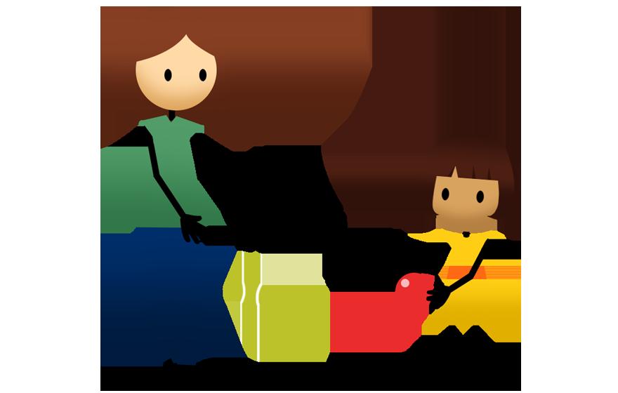 Kid clipart tennis. Activities active for life