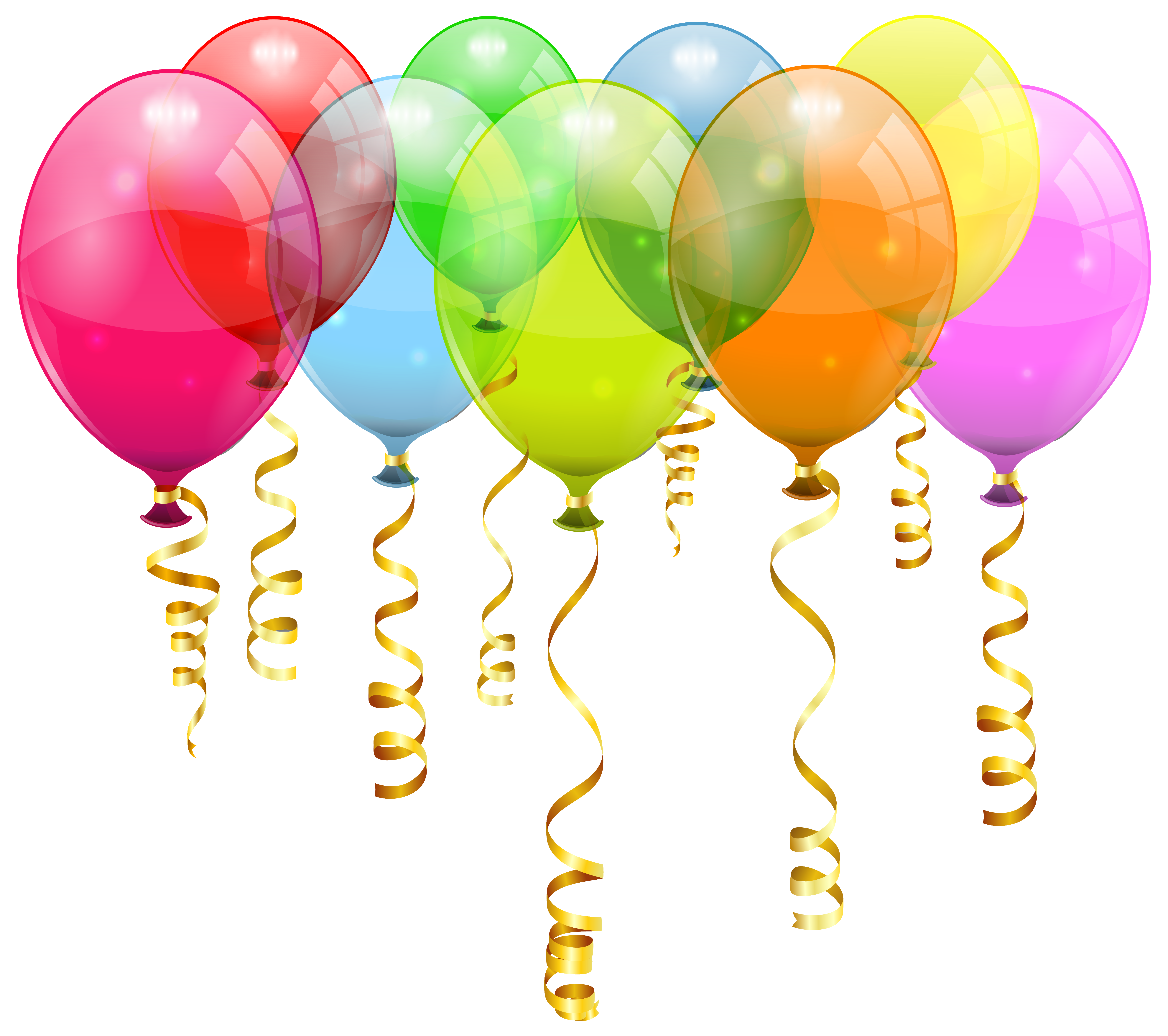 Colorful balloon png image. Key clipart bunch