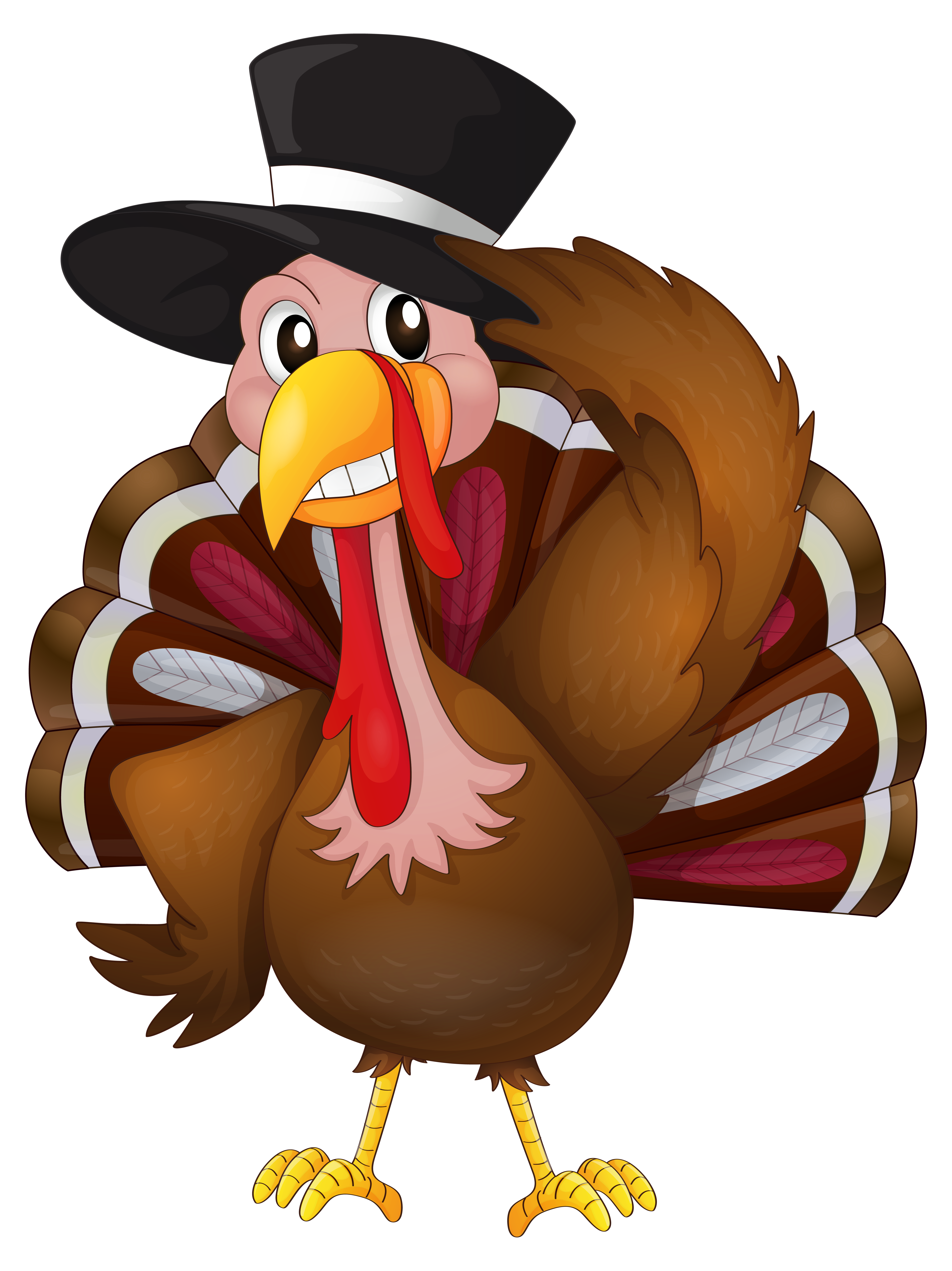 Pilgrims clipart ambassador. Thanksgiving turkey at getdrawings