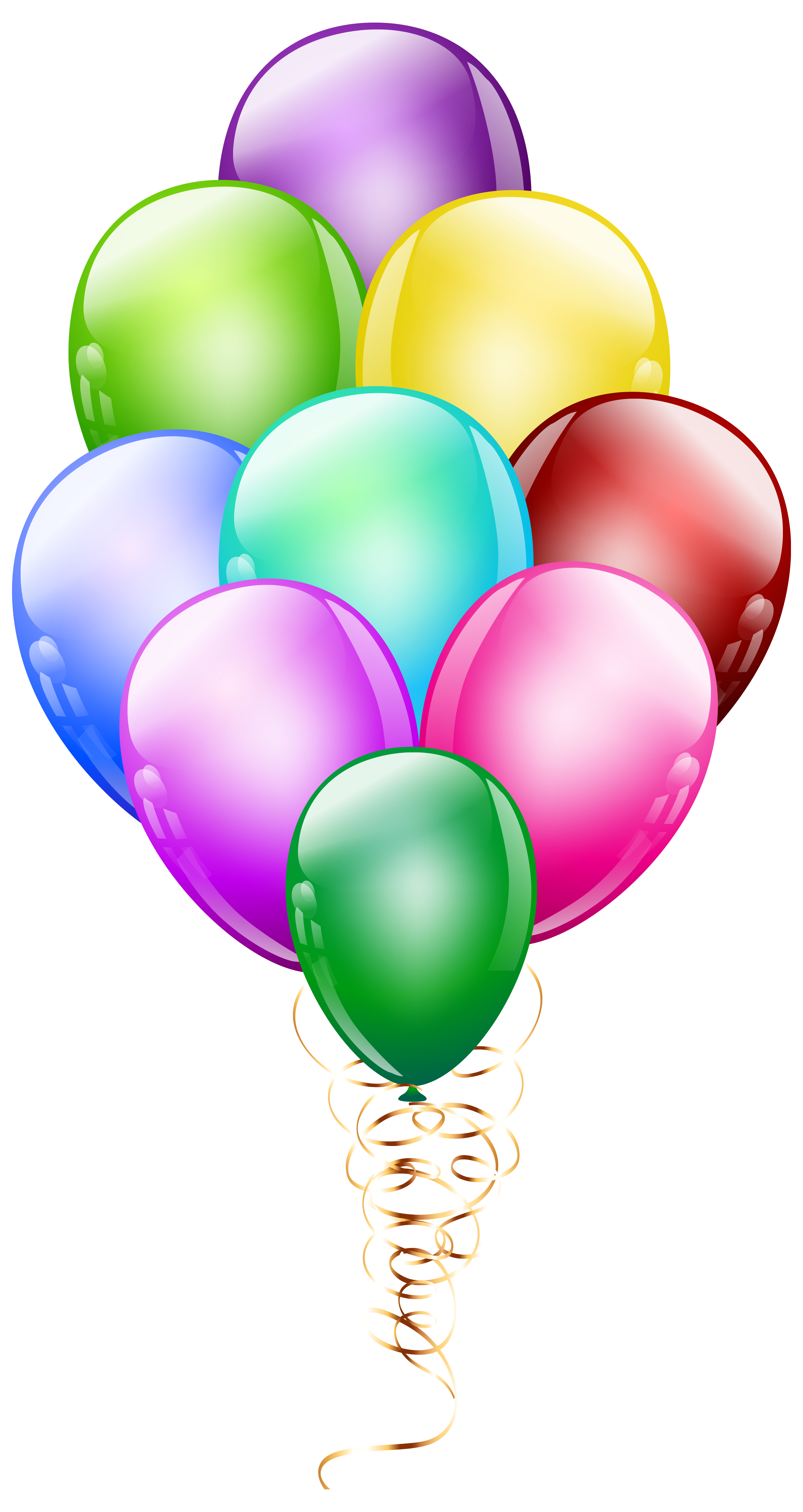 Bunch png image gallery. Clipart balloon turquoise