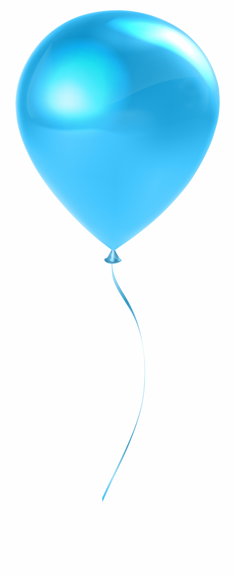 Transparent background single . Clipart balloon turquoise