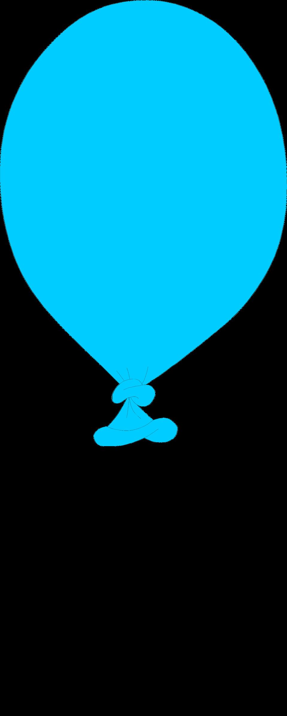 Free stock photo illustration. Clipart balloon turquoise