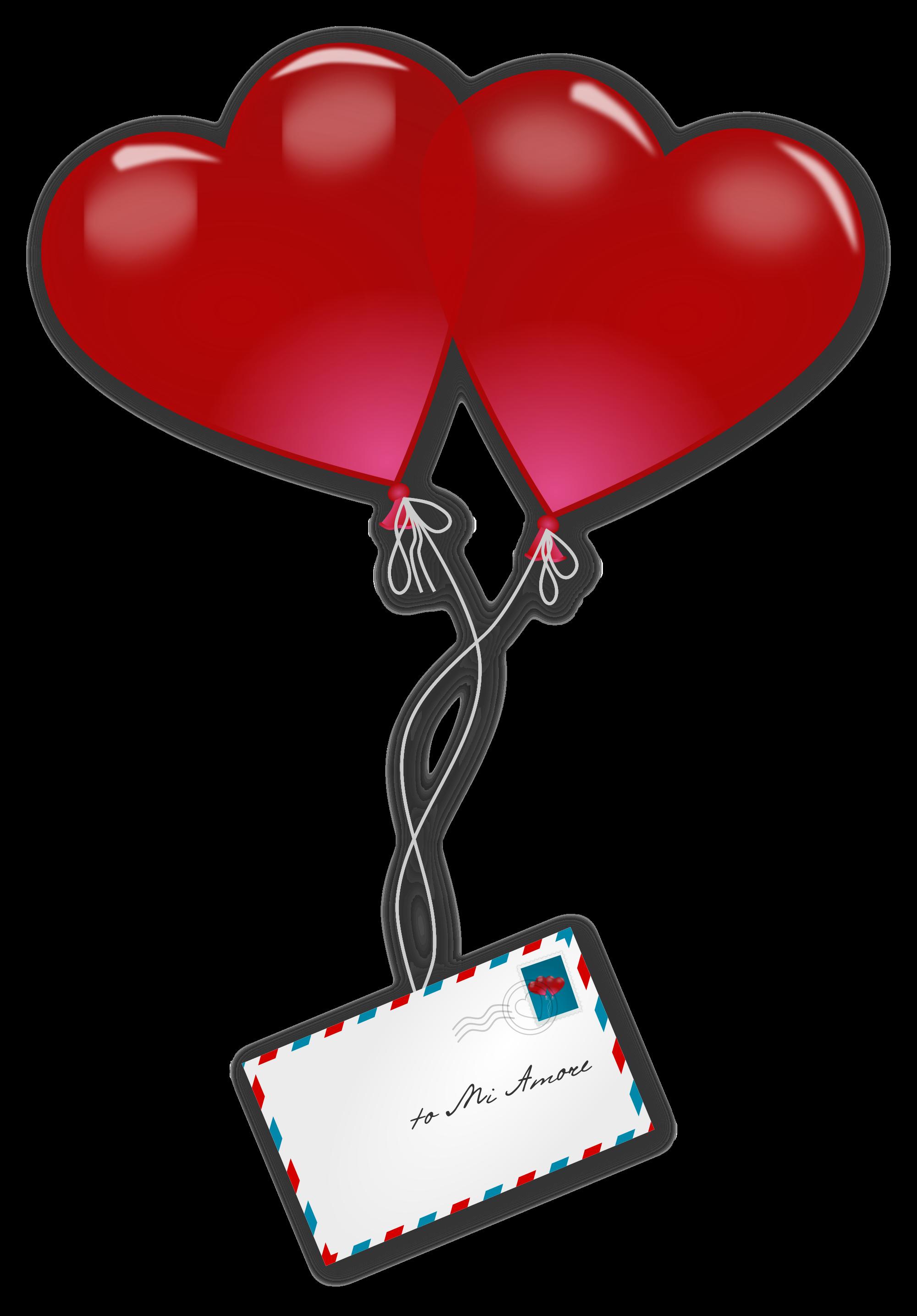 Clipart balloon valentines. File valentine s day