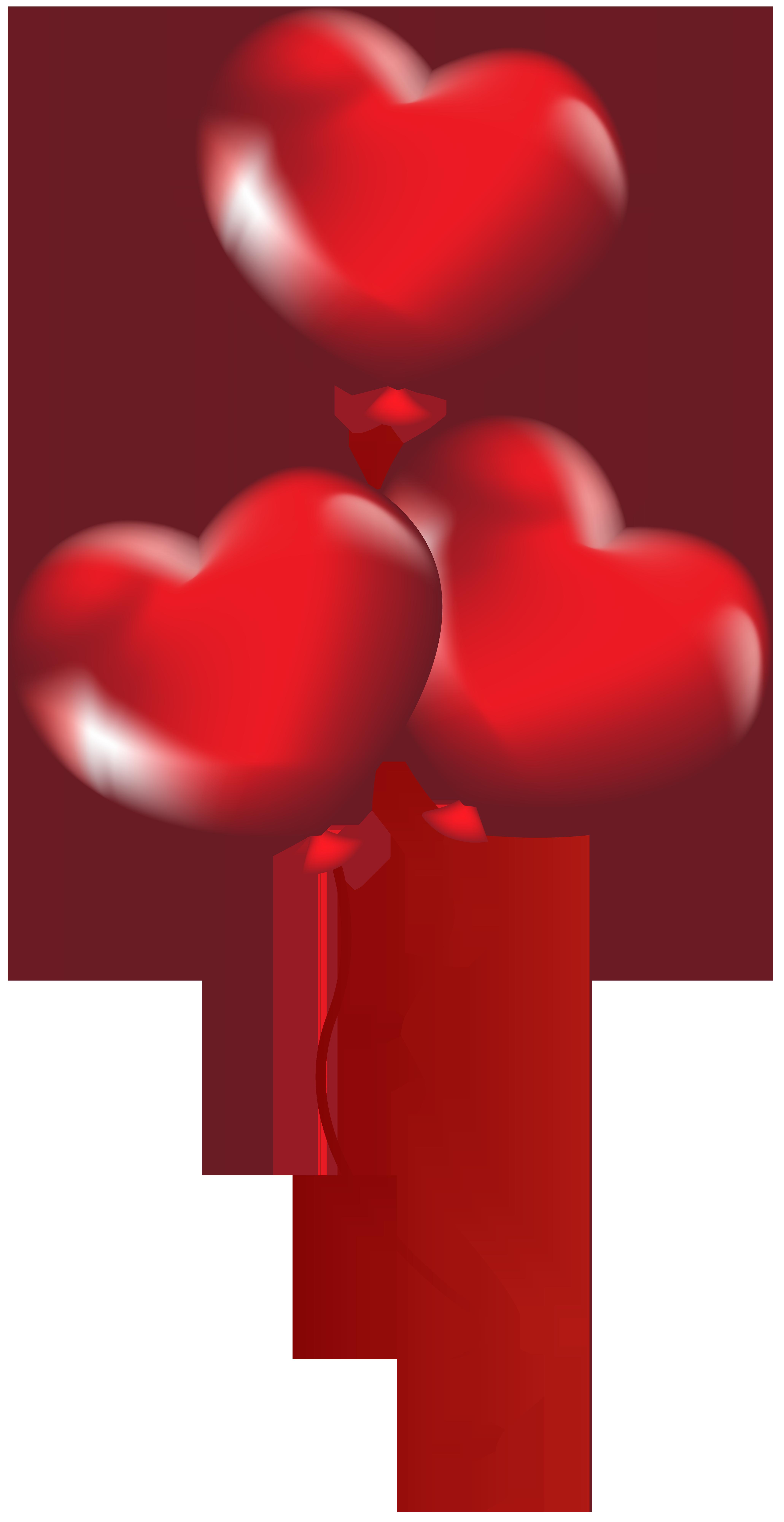 Heart balloons transparent png. Clipart hearts balloon
