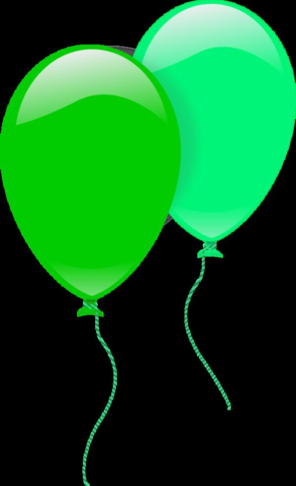 Green balloons paberish me. Clipart balloon vector
