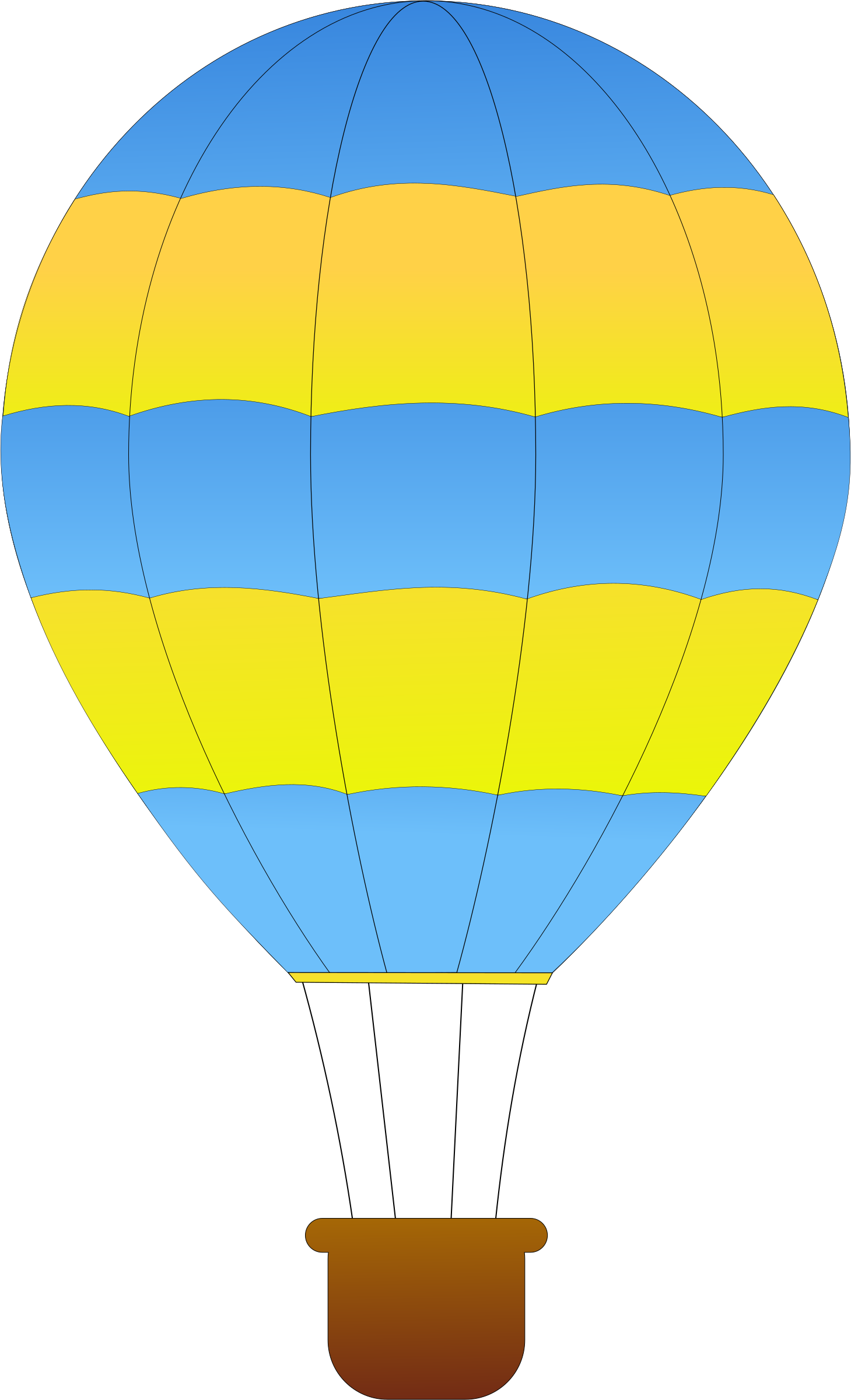 Clipart balloon vintage. Horizontal striped hot air