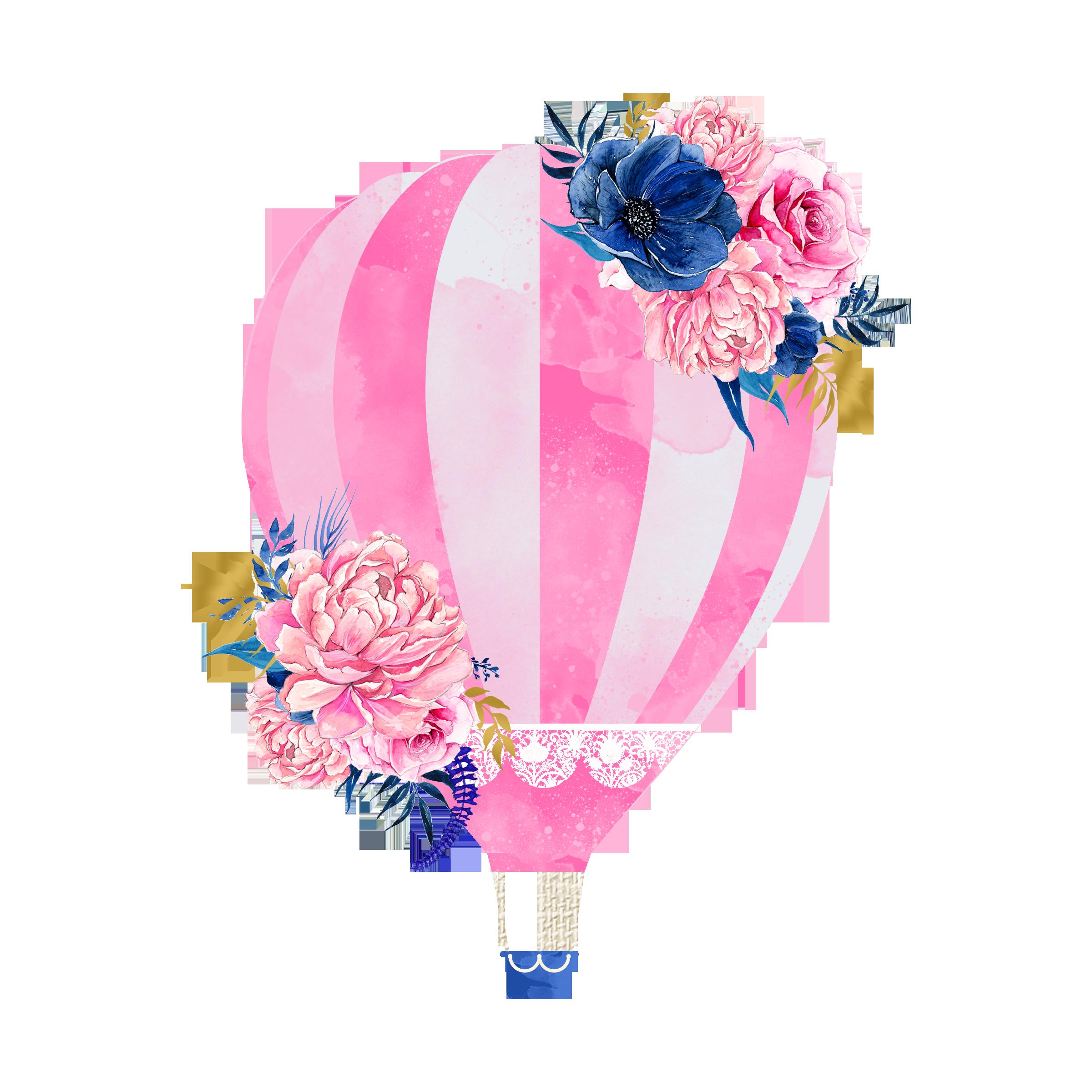 Clipart balloon wedding. Invitation hot air clip