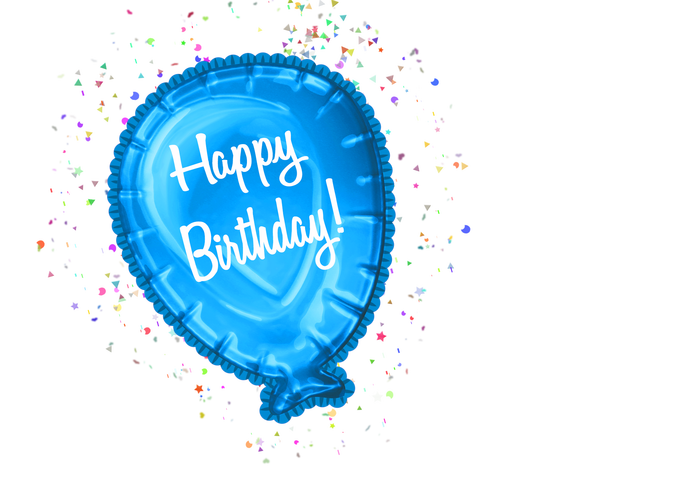 Clipart birthday blue. Happy cutecrafting you can