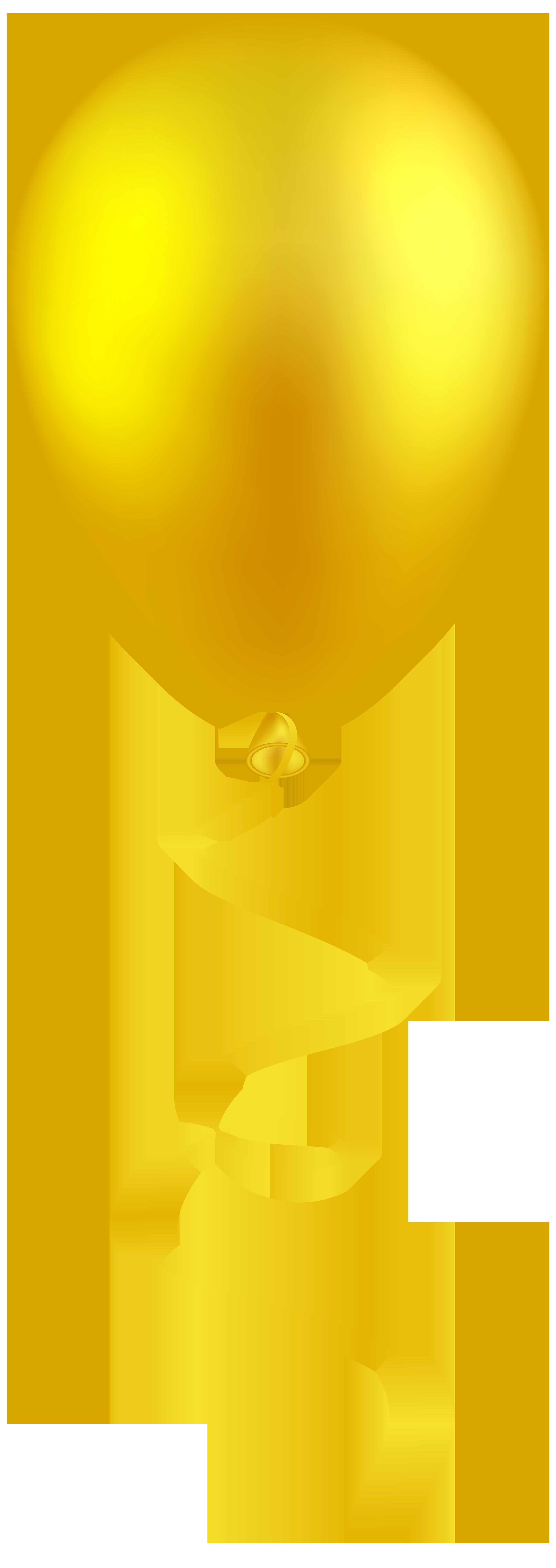 Png clip art best. Clipart balloon yellow