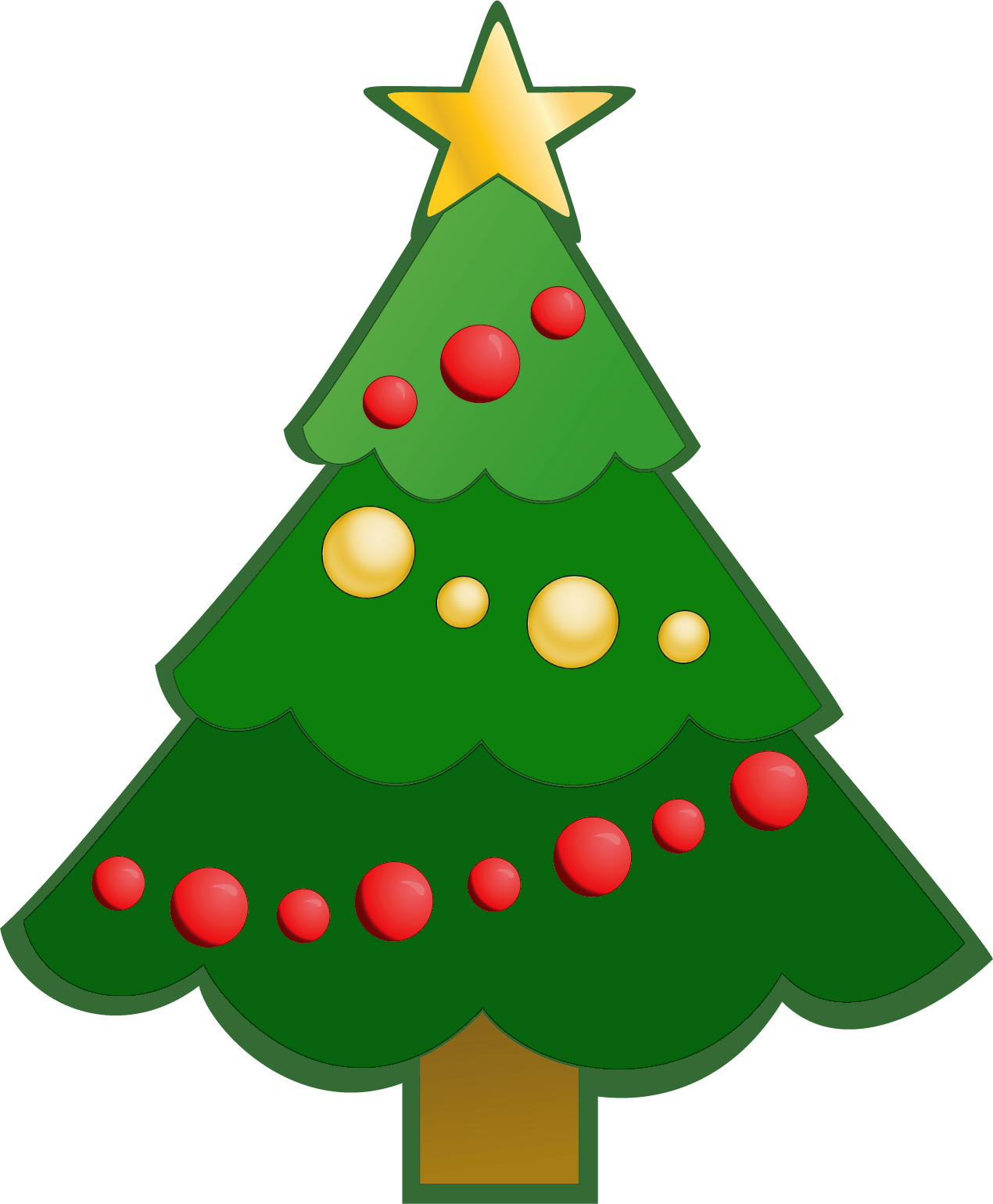 Easy at getdrawings com. Gingerbread clipart christmas tree