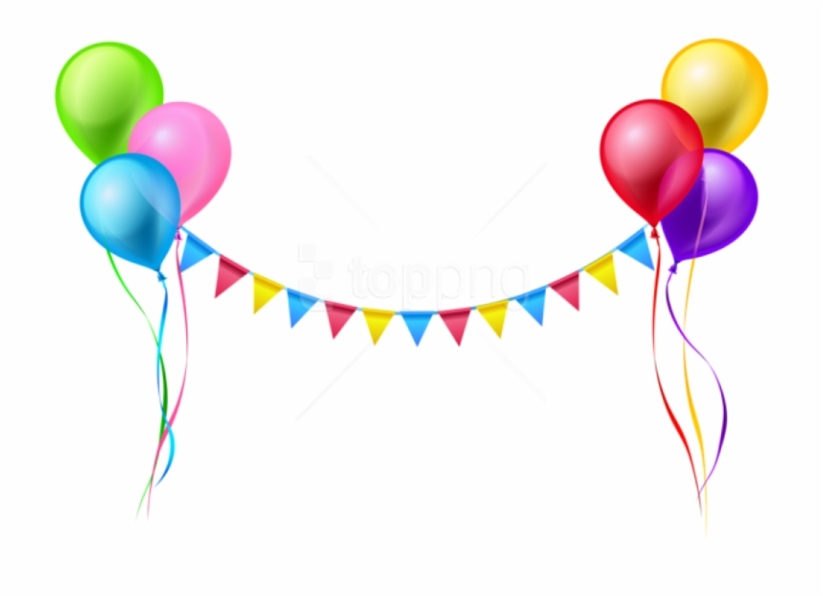 Png transparent happy . Clipart balloons clear background