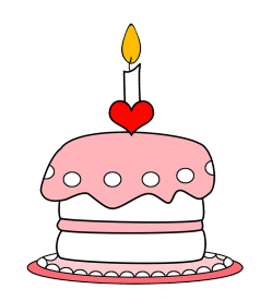 Clipart cake layer. Birthday clip art and