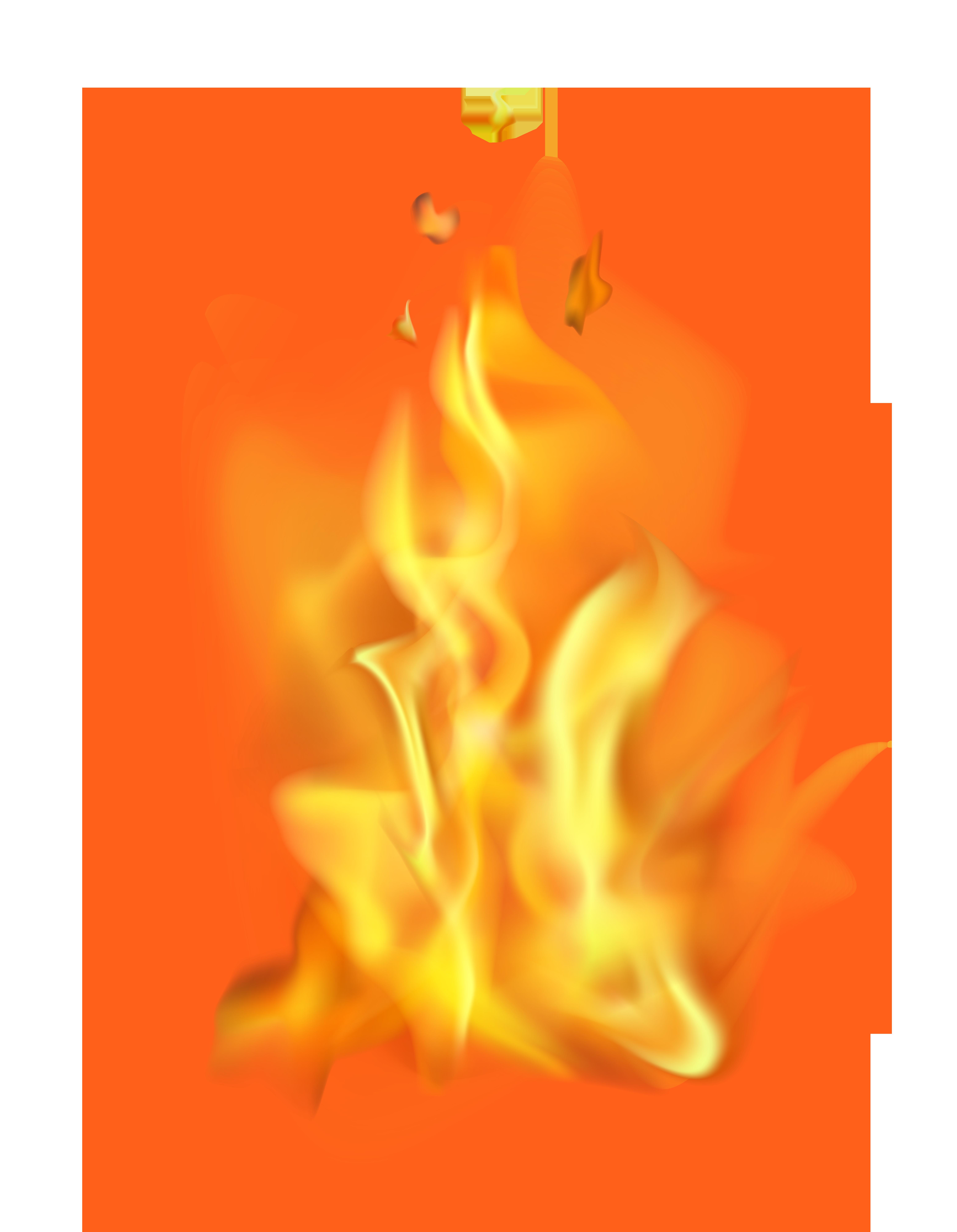 Transparent png clip art. Clipart fire flame