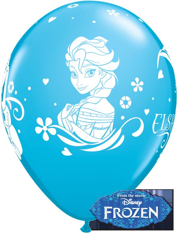 Frozen Clipart Balloon  Frozen Balloon Transparent Free