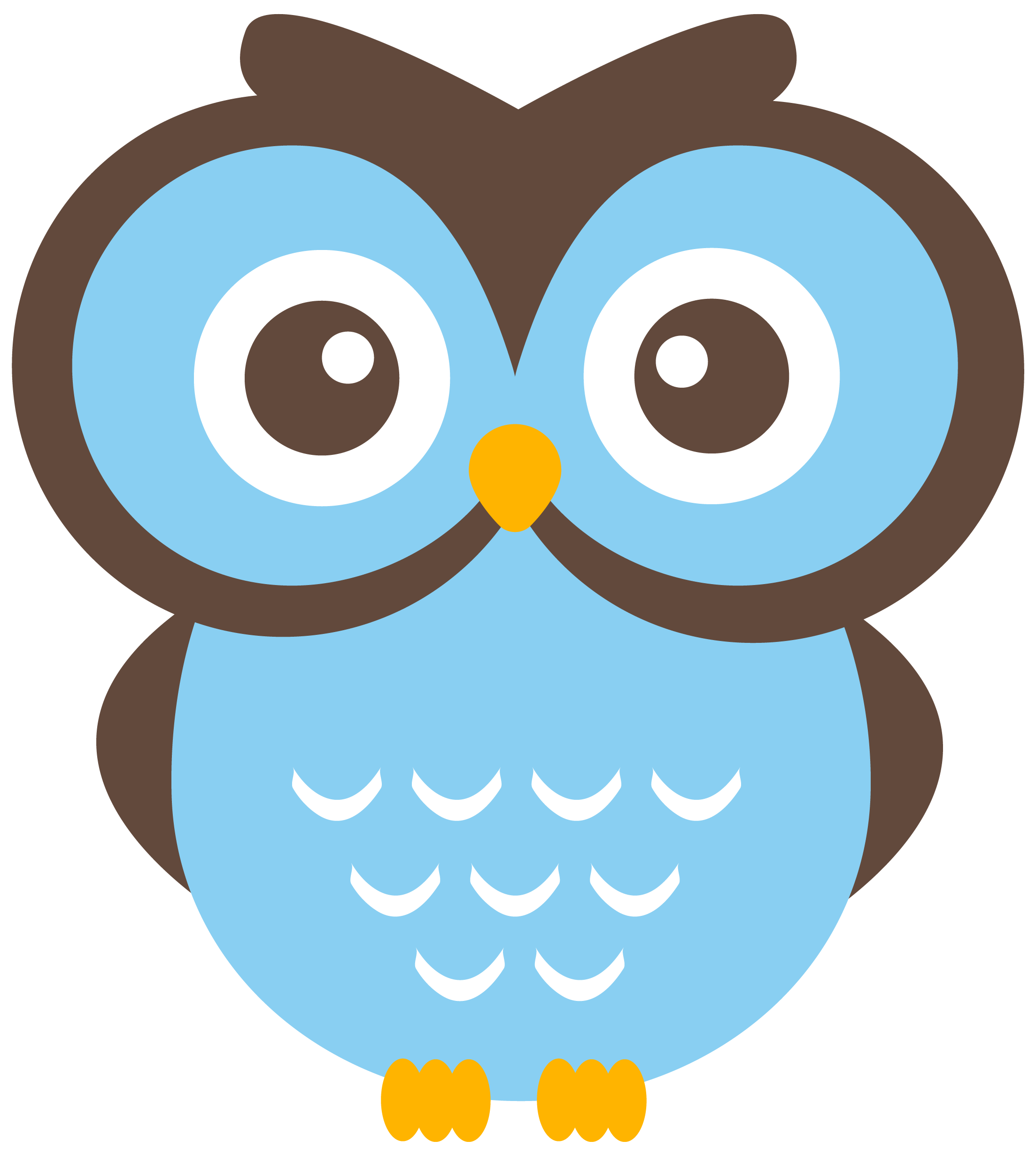 Orange clipart owl. Owls on clip art