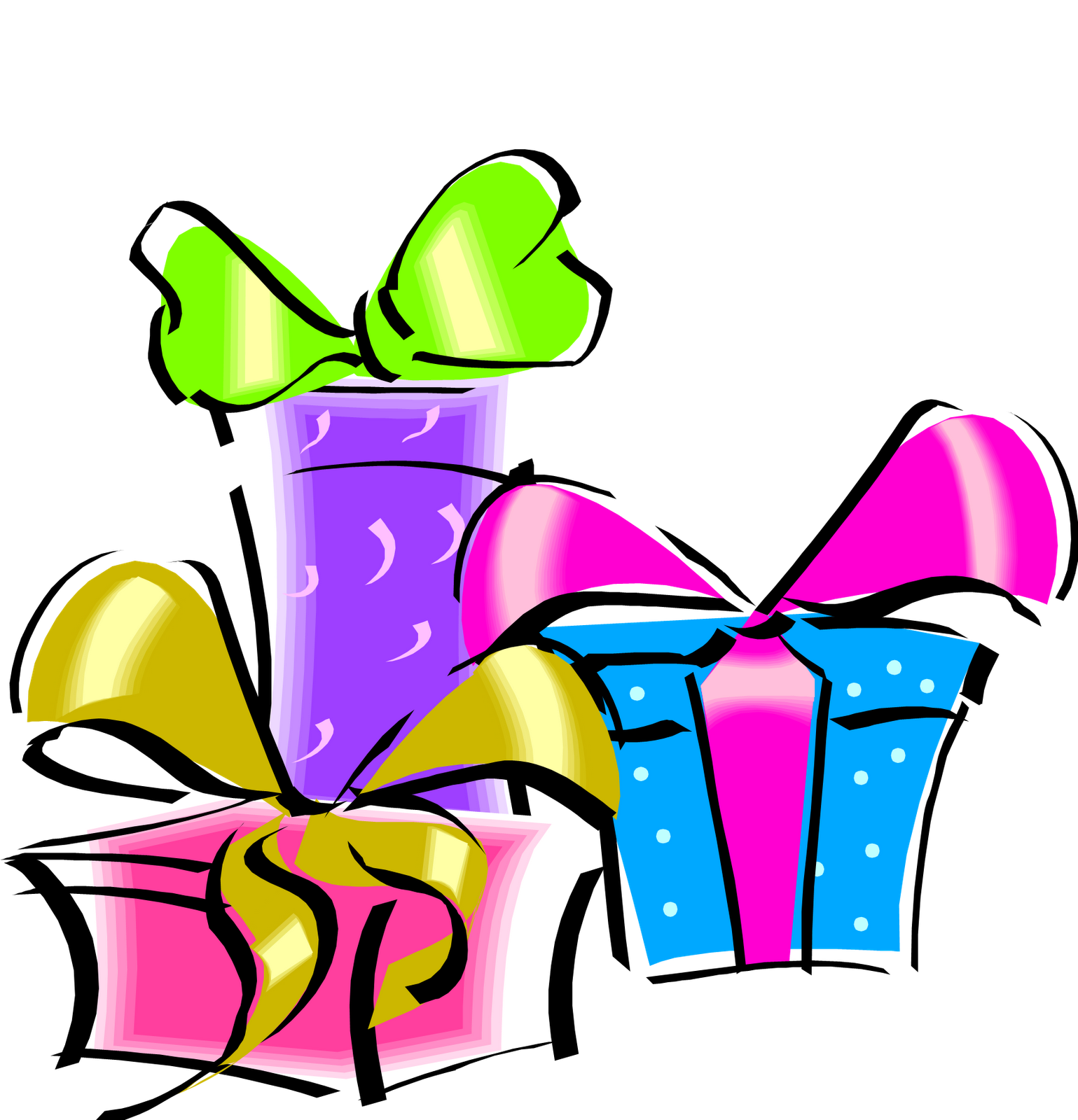 Birthday transparent png pictures. Gift clipart bithday