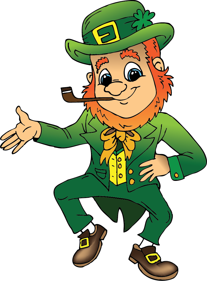 Patricks day clip art. March clipart st pats