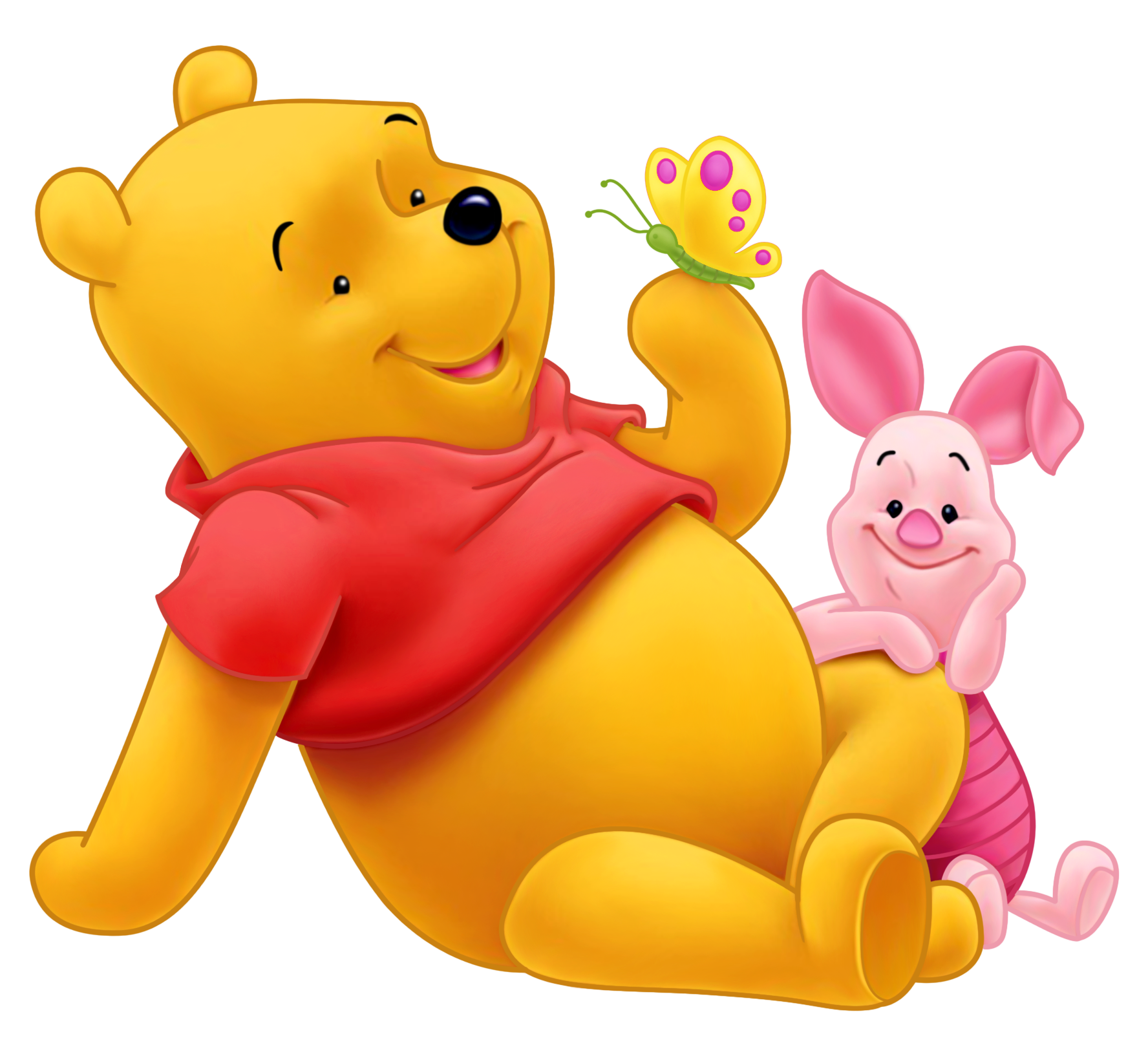 Winnie the pooh and. Motivation clipart high