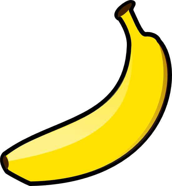 Picture clipart banana. Clip art at clker