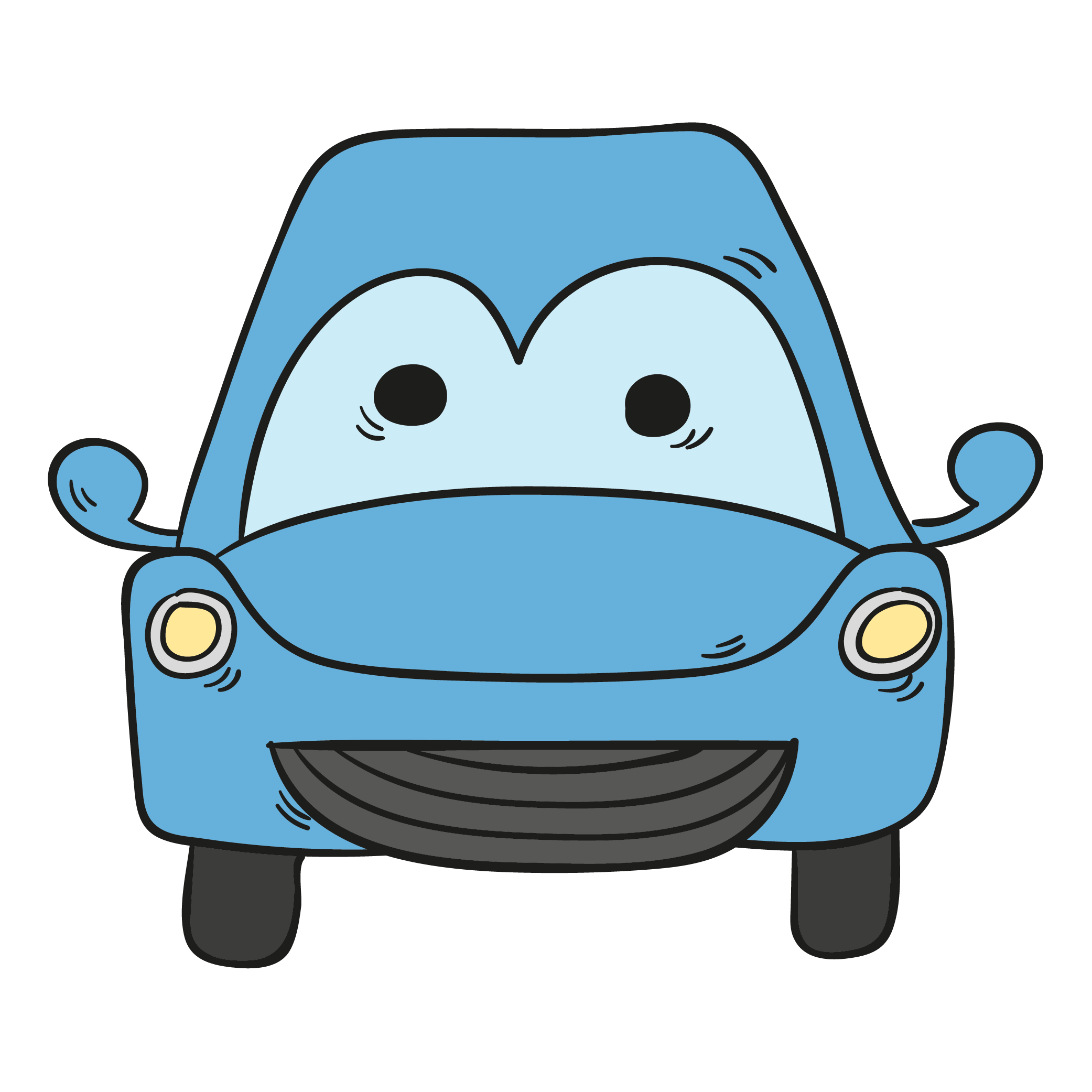 Cartoon drawing animation blue. Clipart cars lightning mcqueen