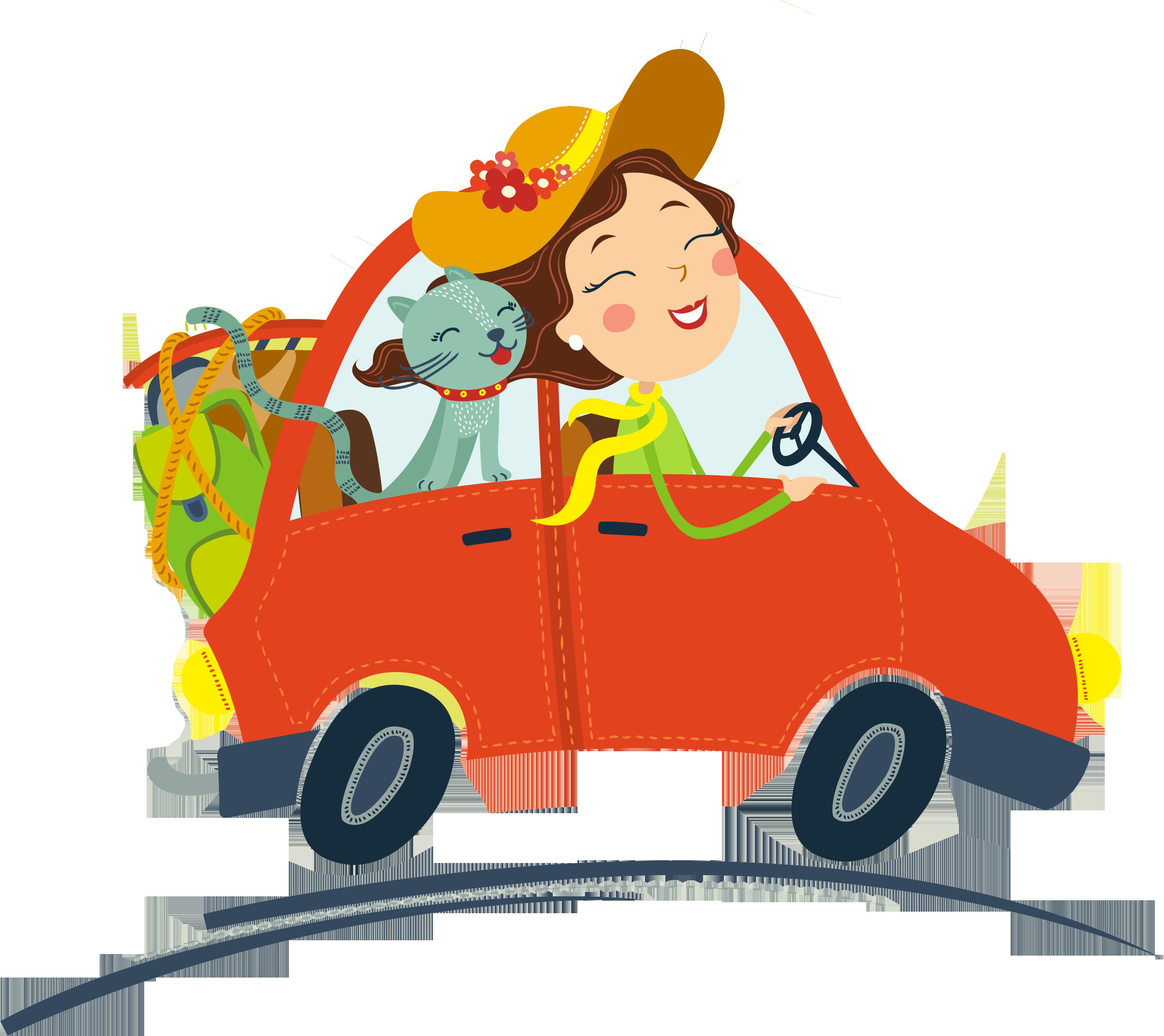 Driving clipart orange car, Driving orange car Transparent ... (2967 x 2641 Pixel)