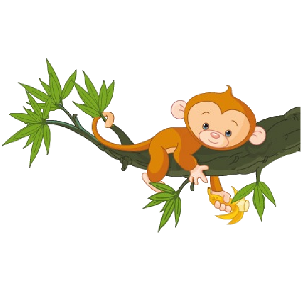 Costume clipart monkey. Cute funny cartoon baby