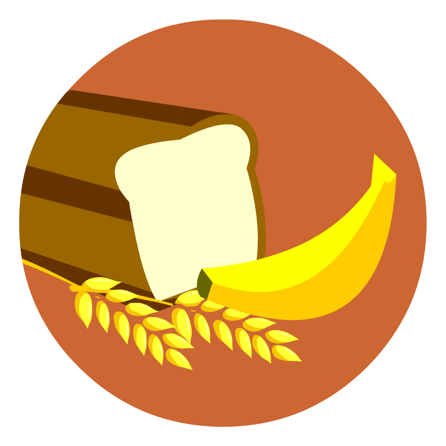 Nutrition clipart orange banana. Food carbohydrates nutrient clip