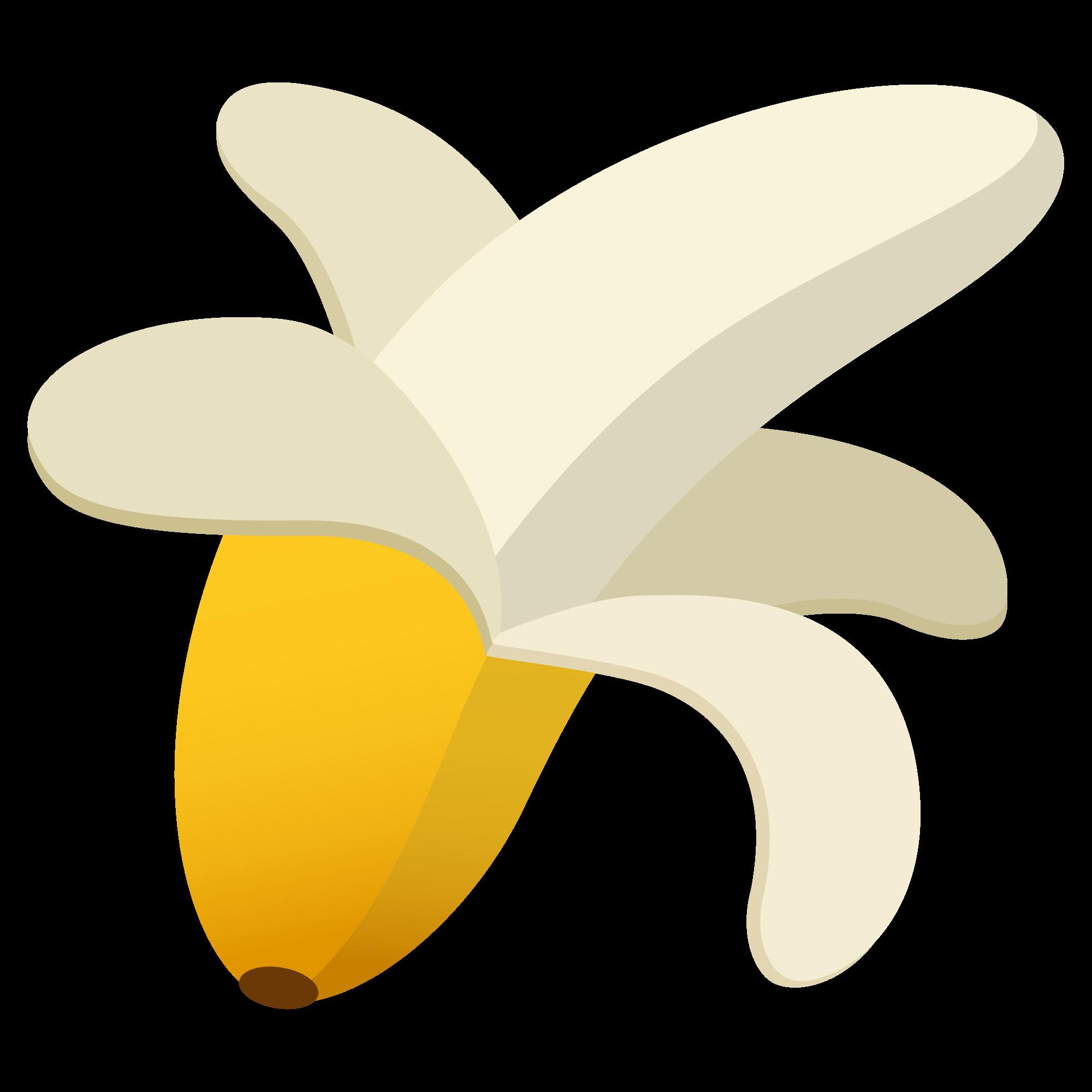 Emoji clipart banana. File u f c