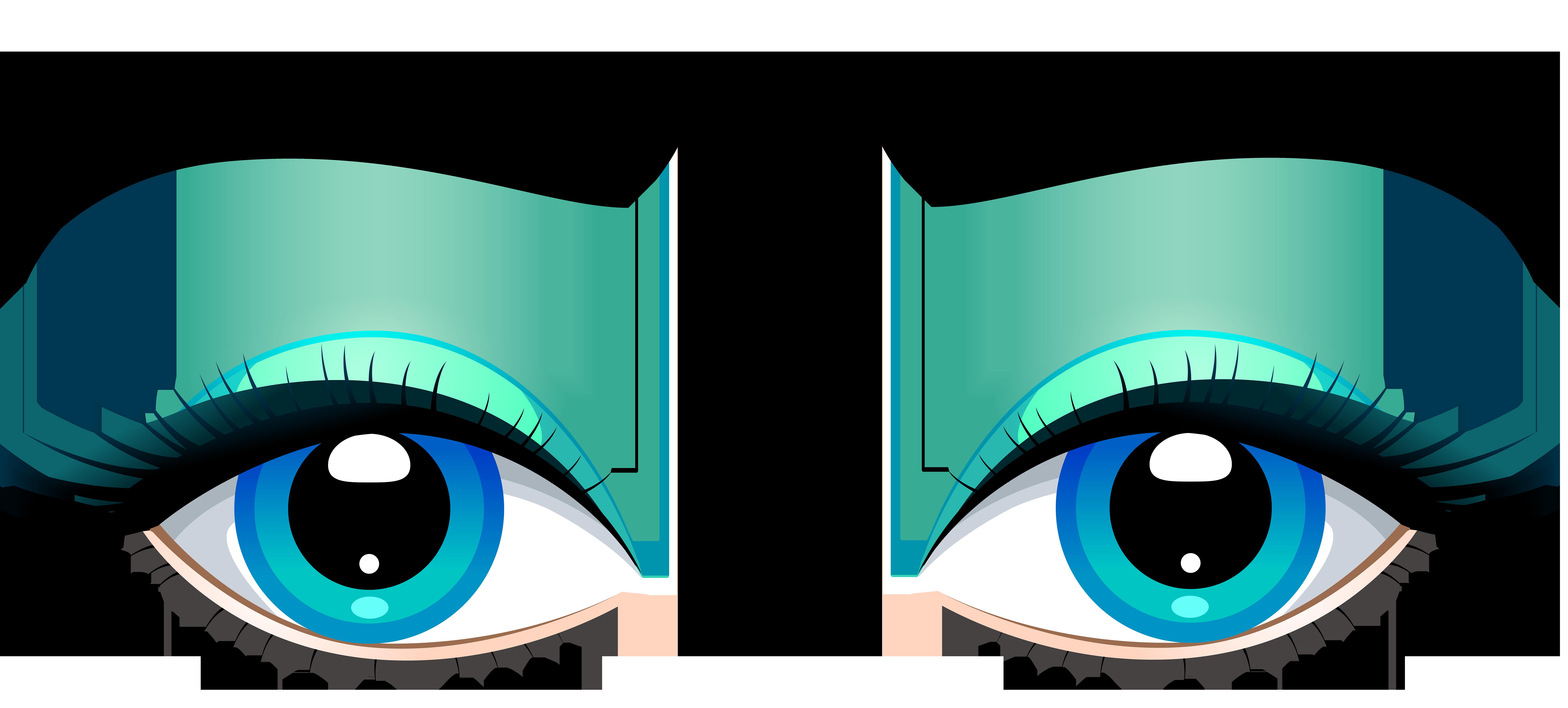Eyes clipart banana. Eyebrow clip art transprent