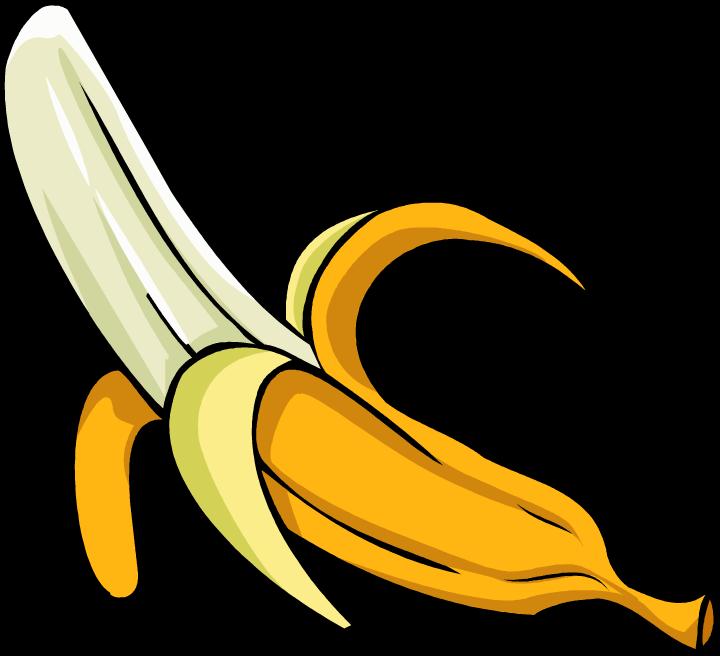 Free clip art image. Foods clipart banana