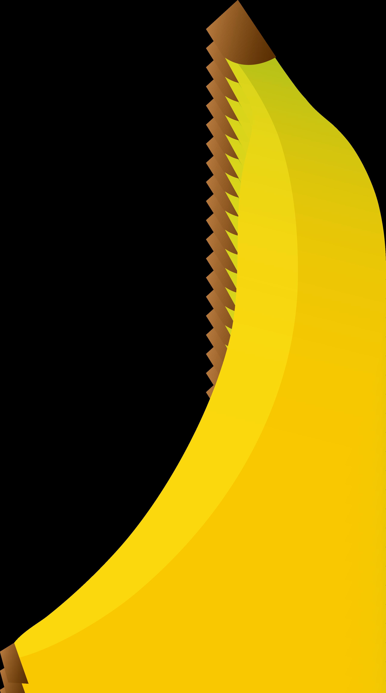 Cartoon for infographic briar. Banana clipart simple