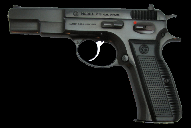 Pistol thirty nine isolated. Clipart gun transparent background