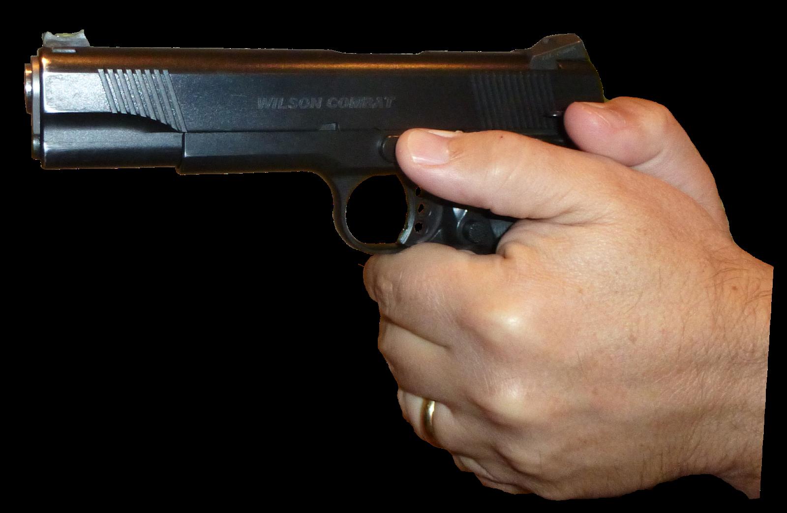 Clipart gun transparent background. Firearm pistol handgun clip