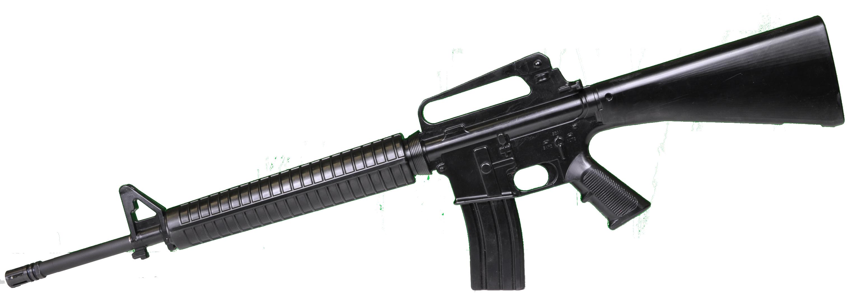 Clipart gun transparent background. Assault rifle twenty one