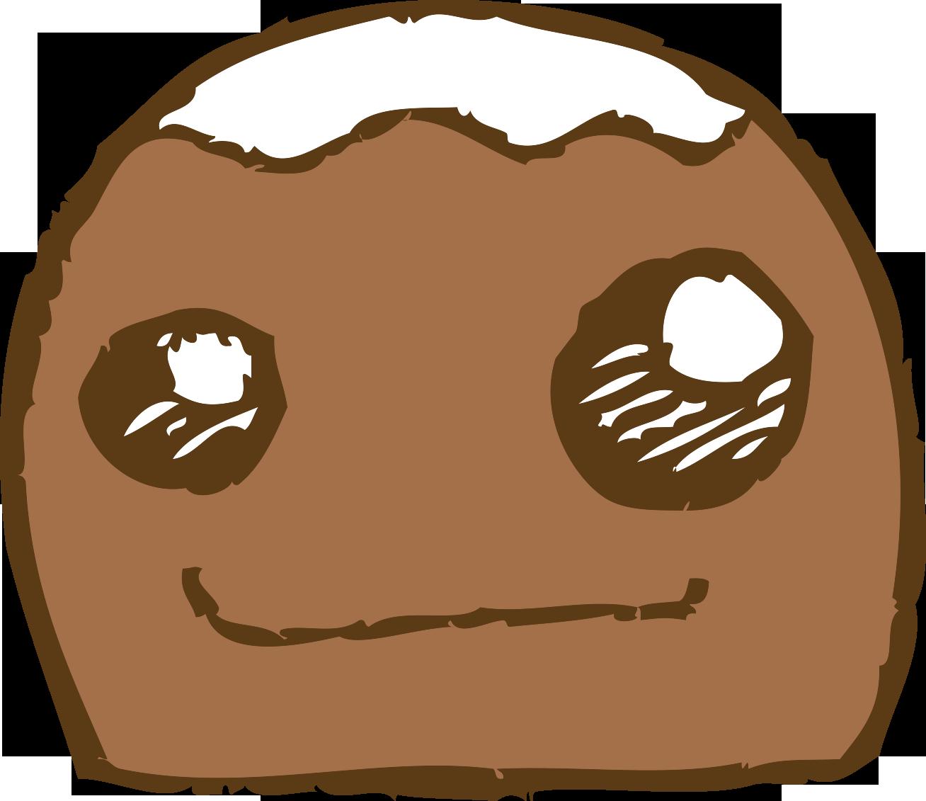 Chocolate bar cartoon clip. Nut clipart bean
