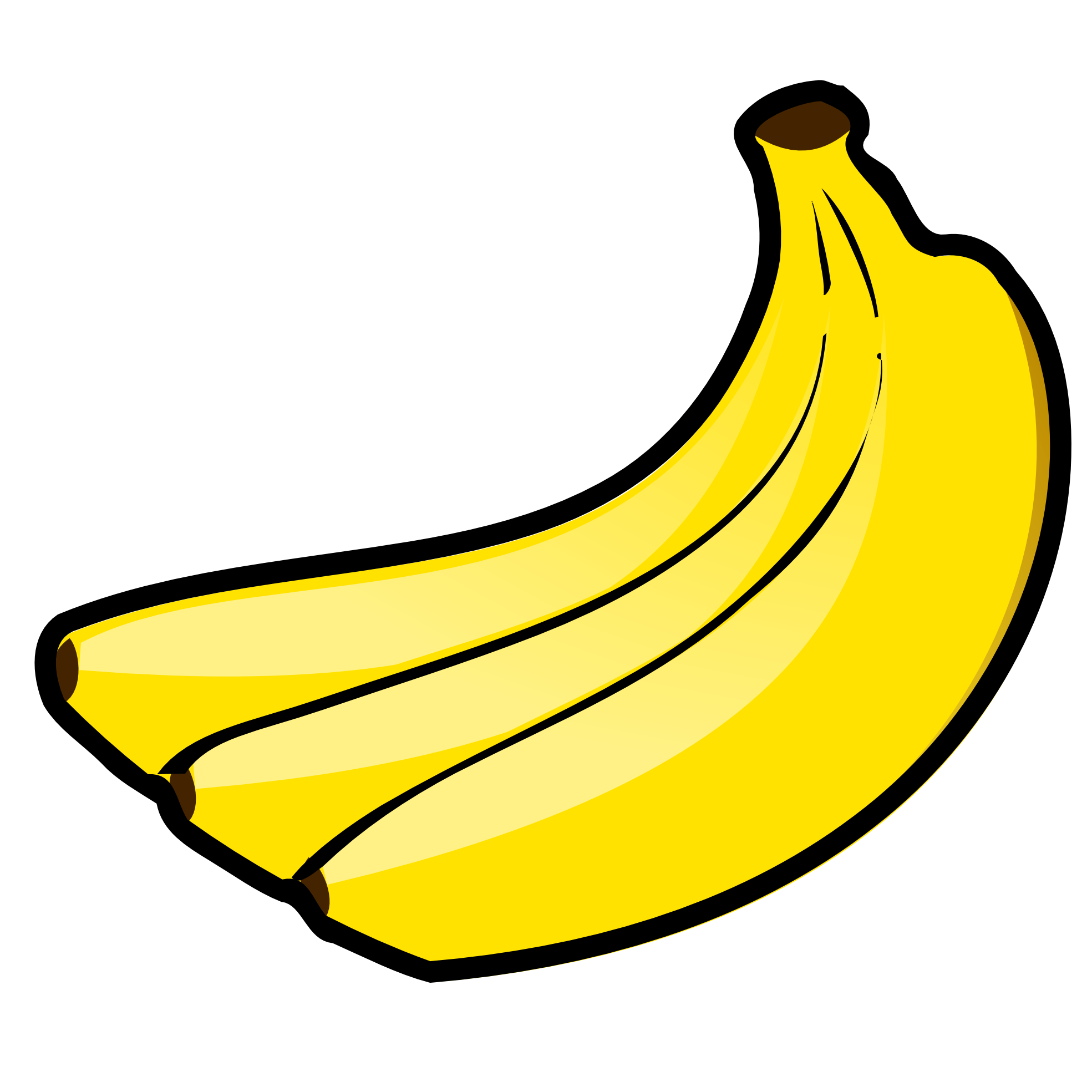 Transparent png downloads free. Clipart banana high quality