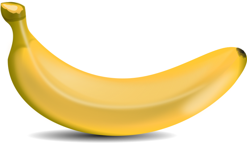 Clipart banana high quality. Transparent png downloads free