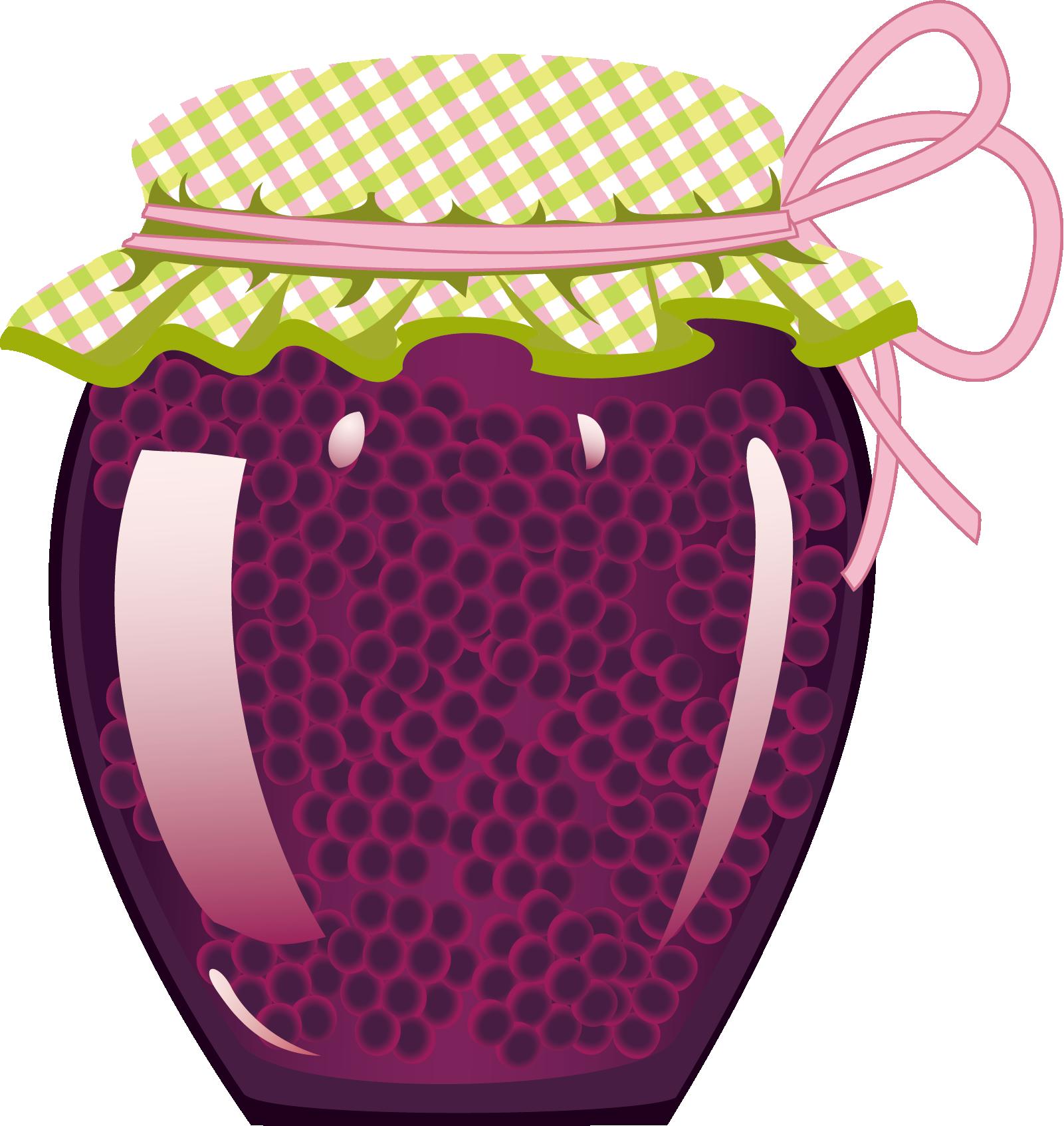 Jam clipart raspberry jam. Marmalade fruit preserves jar