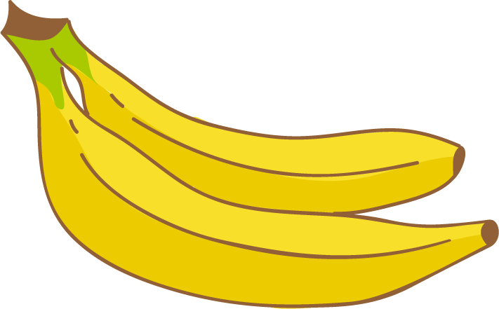 Banana png transparent free. Pear clipart buah